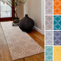 Hand-Tufted Langport Wool Rug - 2'3 x 12'