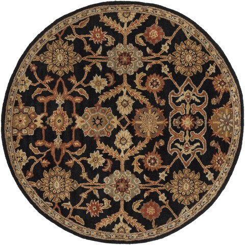 Hand-Tufted Acton Floral Wool Rug - 3'6