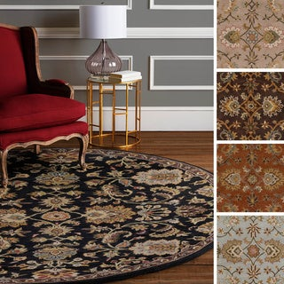 Hand-Tufted Yate Floral Wool Rug (3'6 Round)