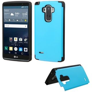 Insten Hard Snap-on Rubberized Matte Phone Case Cover with Card Slot For LG G Stylo