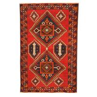Handmade Herat Oriental Afghan Tribal Balouchi Wool Rug (Afghanistan) - 2'10 x 4'6