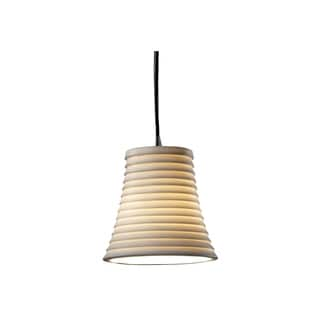 Justice Design Group Limoges 1-light Nickel Pendant