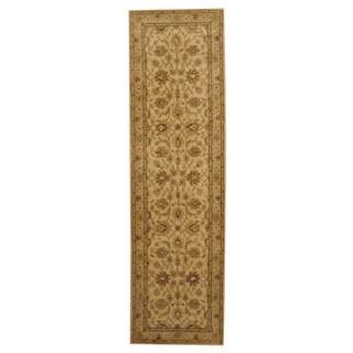 Herat Oriental Indo Hand-tufted Mahal Wool Runner (2'3 x 8')