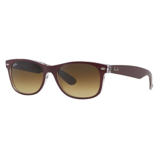 cdc0a056af Shop Ray-Ban Men s RB2132 Red Plastic Square Sunglasses - Free ...