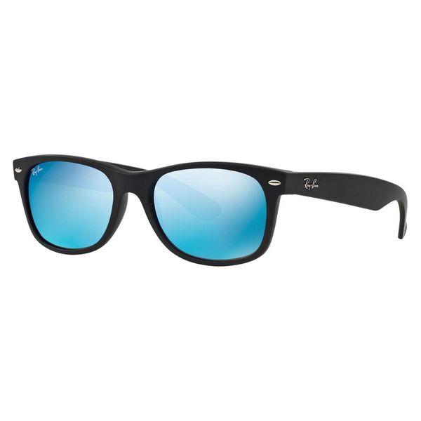a2e3634b62 Shop Ray-Ban Men s RB2132 Black Plastic Square Sunglasses - Free ...