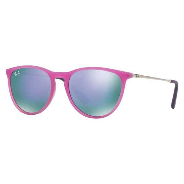 45dff3f07 Ray-Ban Junior RJ9060S Izzy Purple Frame Violet Mirror Lens Sunglasses