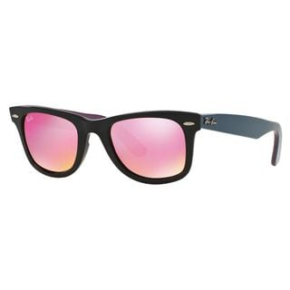 Ray-Ban Women's RB2140 Black Plastic Square Sunglasses
