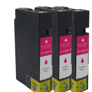 Canon CAN-PGI1200 XL M Compatible Inkjet Cartridge for MAXIFY MB5320/ MB2020/ MB2320 (Pack of 3)