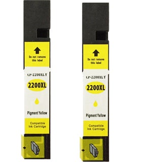 Canon CAN-PGI2200 XL Y Compatible Inkjet Cartridge for iB4020Maxify MB5020Maxify MB5320 (Pack of 2)