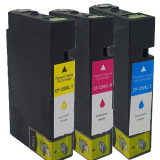 Canon CAN-PGI1200 XL C CAN-PGI1200 XL Y CAN-PGI1200 XL M Compatible Inkjet Cartridge for (Pack of 3)