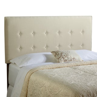 Humble + Haute Brighton Queen Size Ivory Upholstered Headboard