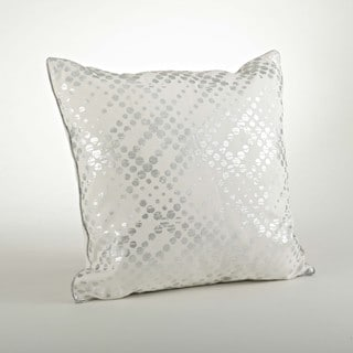Metallic Foil Print Pillow - 20-inch