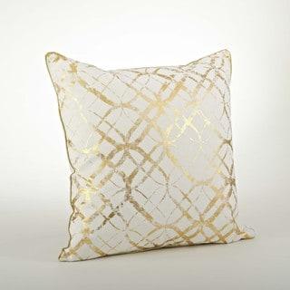 Metallic Foil Print Pillow - 20inch