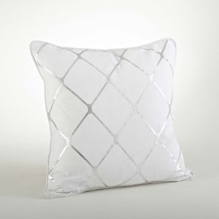 Metallic Diamond Design Pillow-20inch