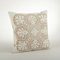 Embroidered Design Pillow - 18-inch