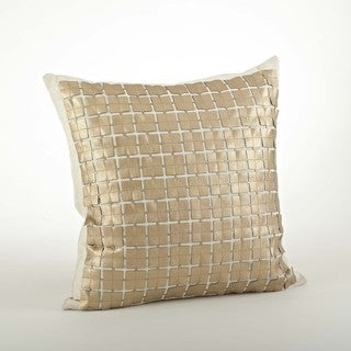 Square Design Cutwork Pillow - 18inch