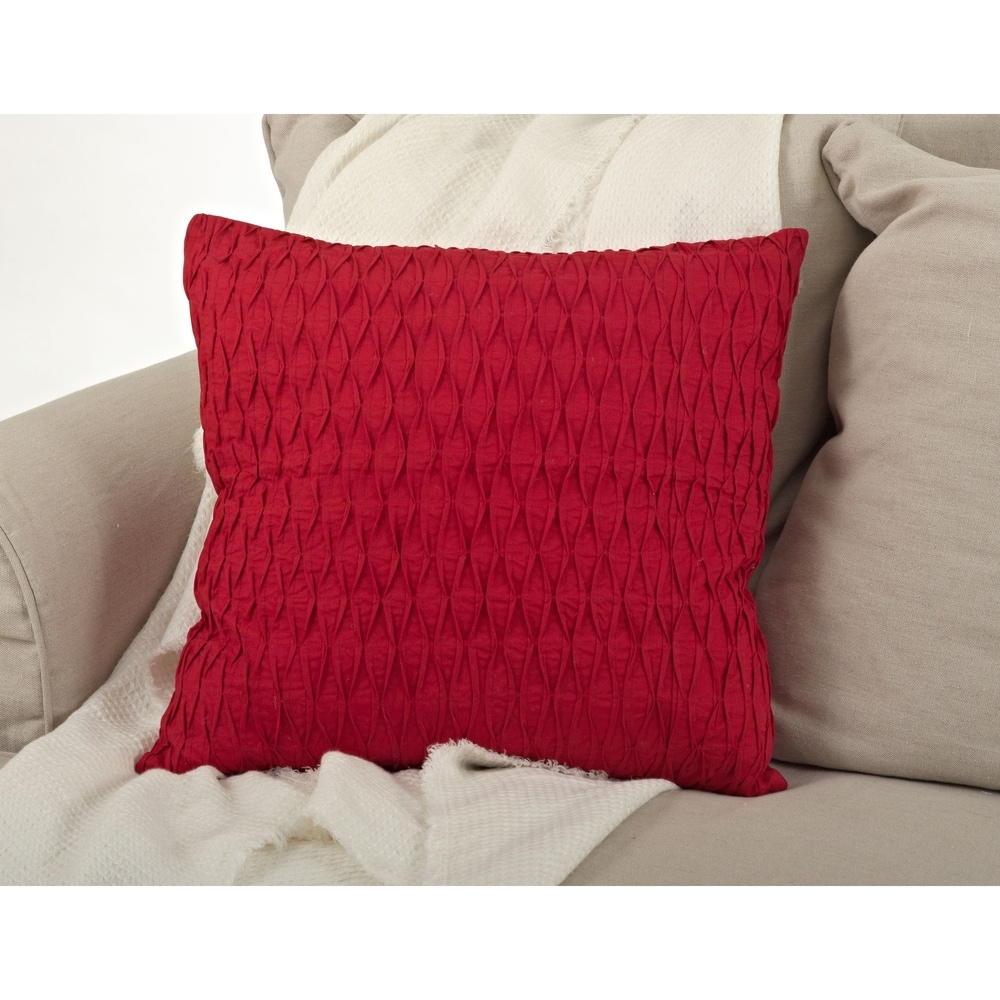 Shop Diamond Pleated Pillow - 20inch - Overstock - 10485969