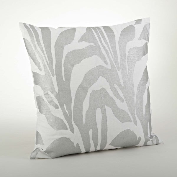 Metallic Animal Print Throw Pillow