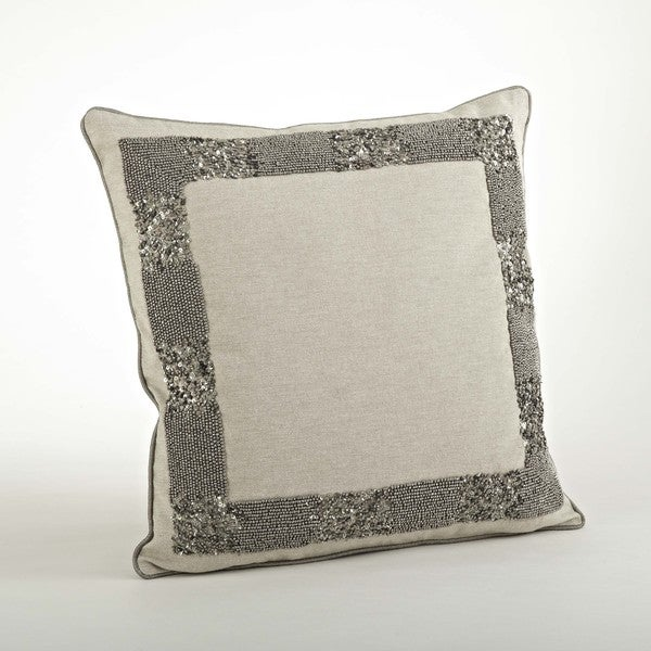 Beaded Design Pillow