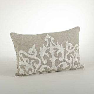 Embroidered Design Pillow (12 x 20)