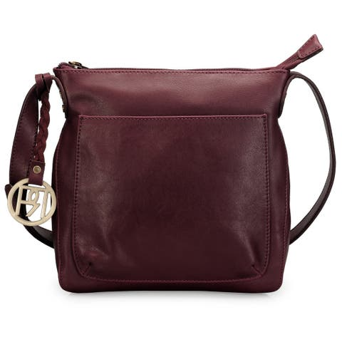 Handmade Phive Rivers Leather Crossbody Bag (Italy)