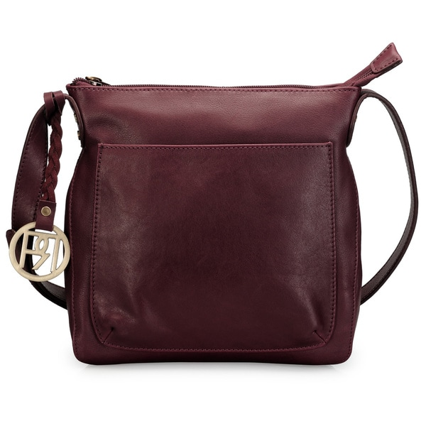 Handmade Phive Rivers Leather Crossbody Bag (Italy)