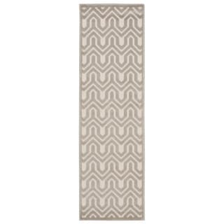 Rug Squared Montrose Ivory Light Grey Runner Rug (2'2 x 7')