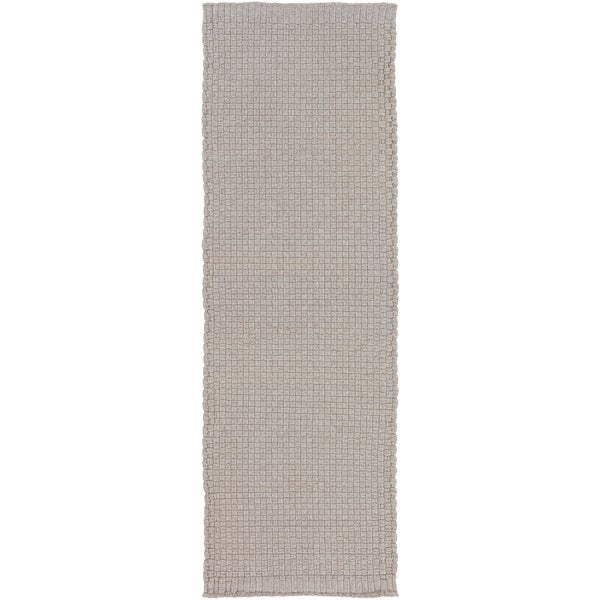 Hand-Woven Dunwich Solid Area Rug - 2'6 x 8'