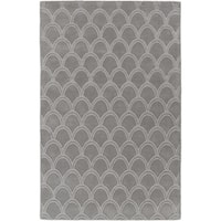 Hand-Loomed Harthrope Solid Wool Area Rug (9' x 13')