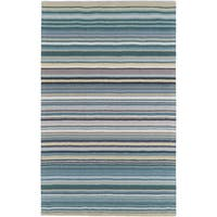 Hand-Loomed Evie Stripe Wool Area Rug