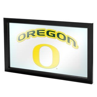 University of Oregon Framed Logo Mirror