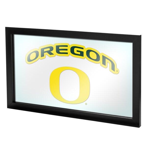 University of Oregon Framed Logo Mirror