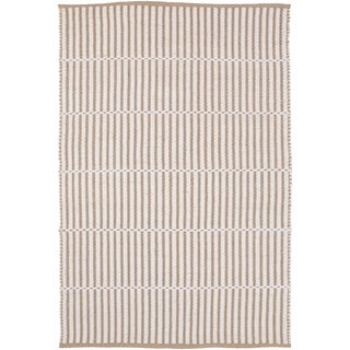 Hand-Woven Kington Stripe Jute Area Rug - 4' x 6'