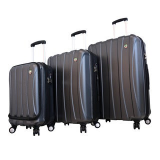 Mia Toro ITALY Tasca Fusion 3-piece Hardside Spinner Luggage Set