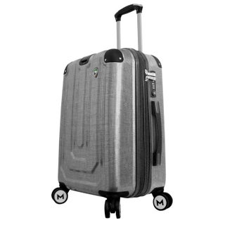 Mia Toro ITALY Macchiolina Polish 20-inch Hardside Spinner Carry-on Suitcase (2 options available)