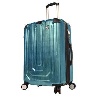 Mia Toro ITALY Spazzolato Metallo Hardside 29-inch Spinner Upright Suitcase