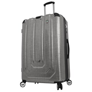 Mia Toro ITALY Macchiolina Polish Hardside 29-inch Large Spinner Upright Suitcase