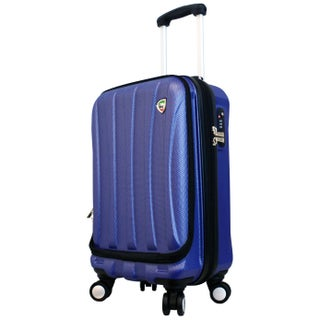 Mia Toro ITALY Tasca Fusion 20-inch Hardside Spinner Carry-on Suitcase (2 options available)
