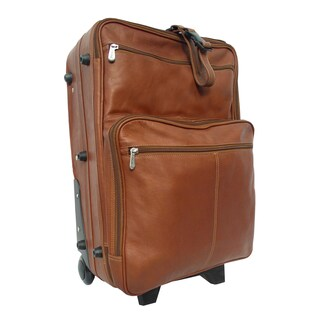 Piel Leather 22-inch Carry-on Upright Suitcase (2 options available)