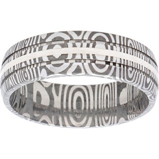 Damascus Steel Ring (More options available)