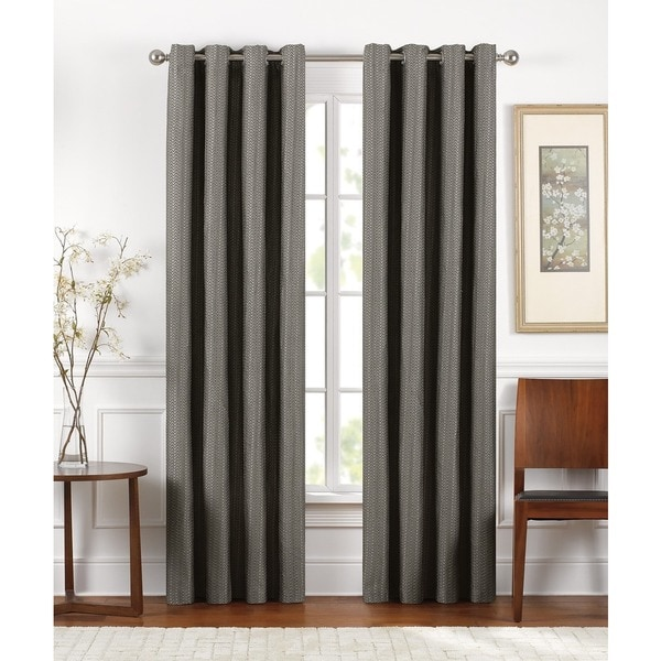 Grommet curtains pattern grommet curtain single - Brielle Sand Dunes Lined Room Darkening Grommet Panel