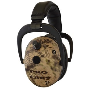 Pro Ears NRR 26 Predator Gold Hearing Protection and Amplfication Highlander Contoured Ear Muffs