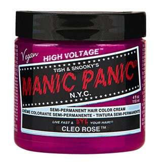 Cleo Rose Magenta Manic Panic Vegan 4 Oz Hair Dye Color