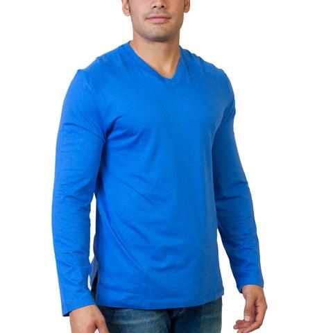 Steven Craig Apparel Men's Long Sleeve V-Neck T-shirt
