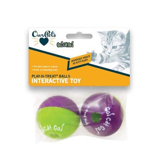 OurPets Go Cat Go Play N Treat Ball|https://ak1.ostkcdn.com/images/products/10486521/P17574613.jpg?impolicy=medium