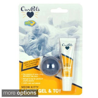 OurPets Catnip Gel with Kitty Cat Toy