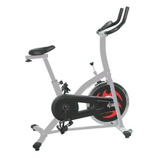 GYM of Fitness FN98001B Cycle Upright Spinning Exercise Bike - Black/White