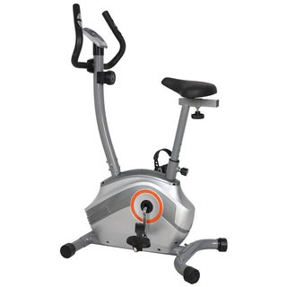 GYM of Fitness FN98003B Upright Magnetic Exercise Bike - Silver
