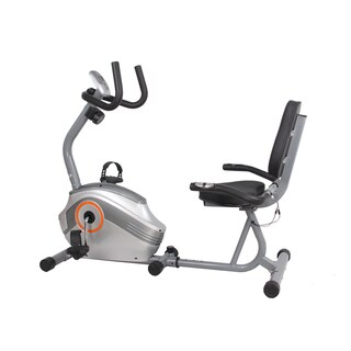GYM of Fitness FN98005B Magnetic Recumbent Exercise Bike - Silver