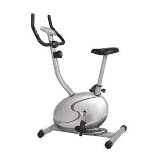 GYM of Fitness FN98006B Upright Magnetic Exercise Bike - Silver